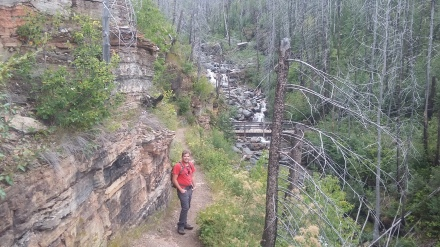 Hiking the Loop Trail at Glacier
