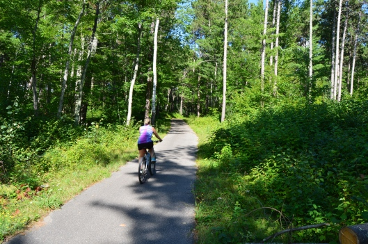 MiGiZi Bike Trail, Cass Lake, MN
