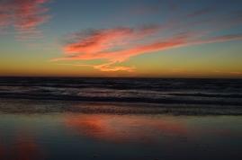 Sunset at Carl Washburn State Park