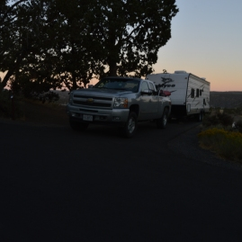 Sunset at Prineville State Park