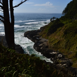 Devils Churn, Cape Perpetua on the Oregon Coast