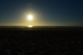 Sunset at the Oregon Dunes
