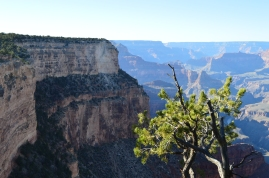 Hiking along the South Kaibab Trail