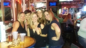 Quality time with some of my favorite ladies at the Slippery Noodle Inn