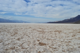 Salt Flats at Badwater Basin in Death Valley National Park