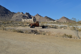 Rhyolite, Nevada. A ghost town just outside Death Valley National Park