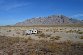 "Camping at ""The Pads"" outside Death Valley Nationl Park"