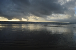 A cloudy day at Pismo Beach, CA