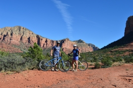 Mountain Biking Bell Rock, Sedona, AZ