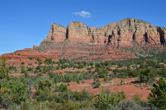 Red rocks in the Coconino National Forest, Sedona, AZ