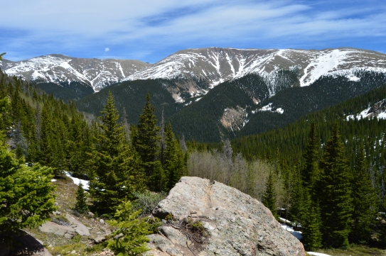 Hiking up to the Broome Hut, Berthoud Pass, CO