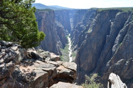 The Gunnison River running through the Black Canyon, Colorado
