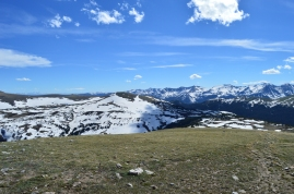 On top of the world! A stop on Trail Ridge Road in Rocky Mountain National Park