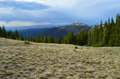 View near the top of Byers Peak, Fraser CO