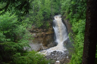 Miners Falls, Pictured Rock National Lakeshore, Munising, MI