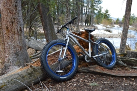 Got Snow? No problem, they make Fat Bikes for that. Fat Biking on the Fraser River Trail in Fraser, CO