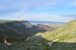 Views from the Colorado side of Dinosaur National Monument